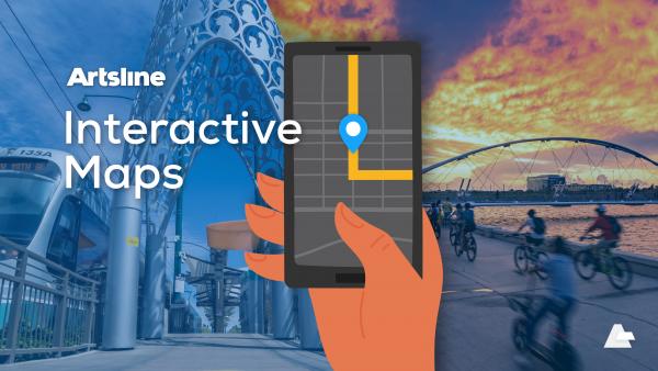 Artsline interactive maps