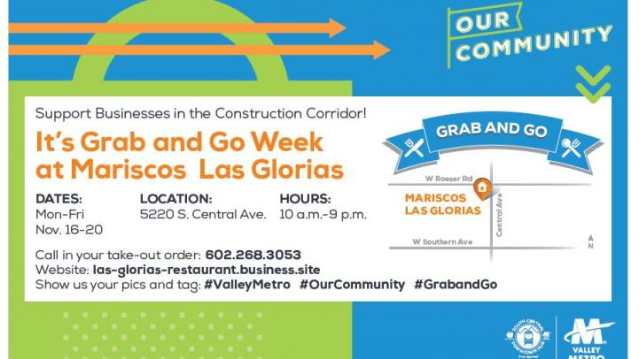 Grab and go flyer.