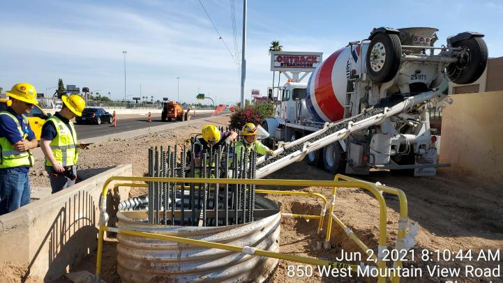 Bridge and infrastructure work along Northwest Extension Phase II