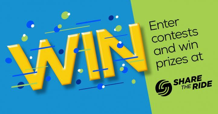 Win Enter contests and win prizes at ShareTheRide.com