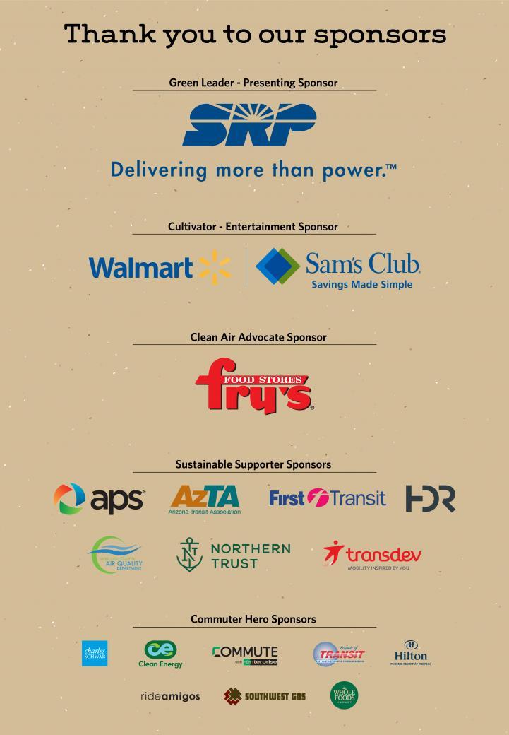 Clean Air Campaign sponsors list