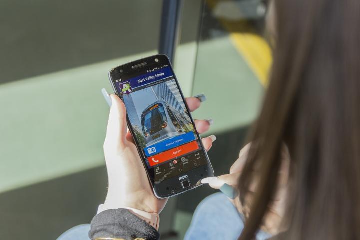Alert Valley Metro App