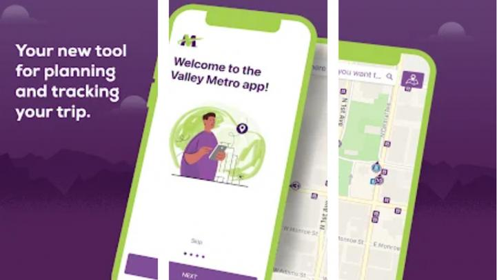 Valley Metro has a new app that can track trains and buses in real time