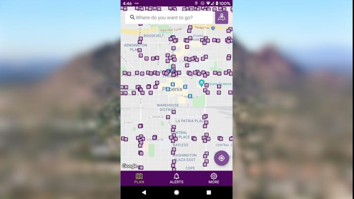 Graphic of VM new app