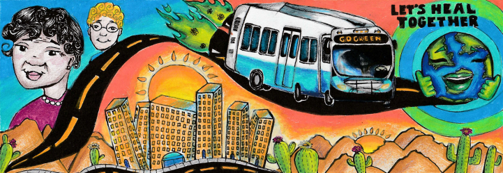 "Pranathi Arum artwork ""Let's All Heal Together"""