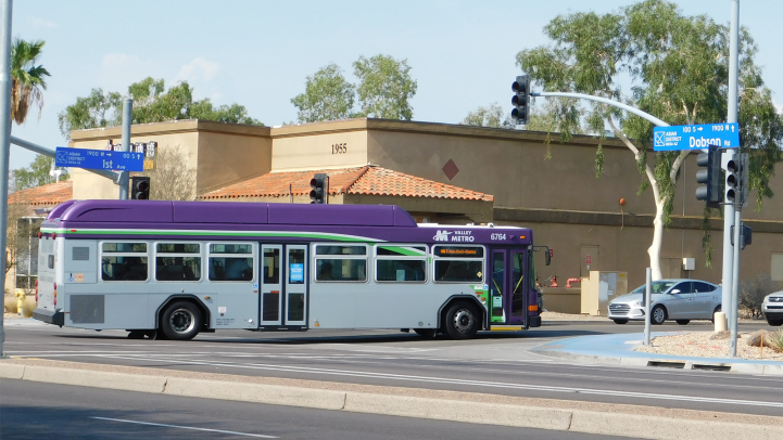 Bus in the Asian District, Mesa