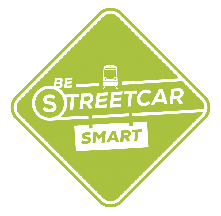 Be Streetcar Smart logo