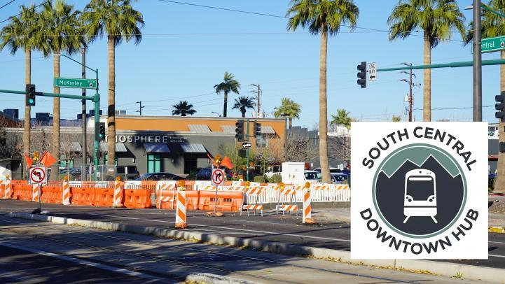 South Central Downtown Hub Construction