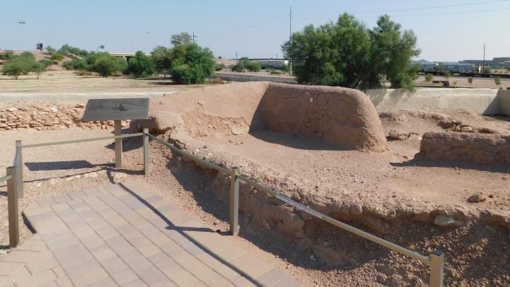 Platform Mound at Pueblo Grande Museum