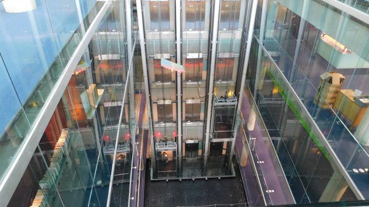 Burton Barr Library elevator