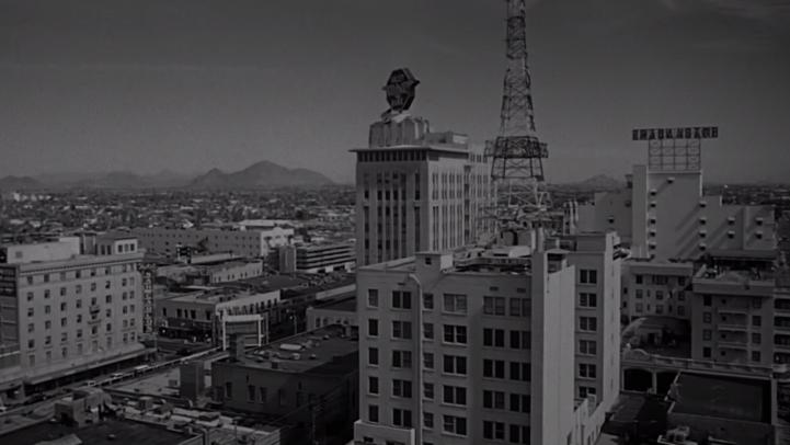 Downtown Phoenix is featured in the opening shot of Psycho