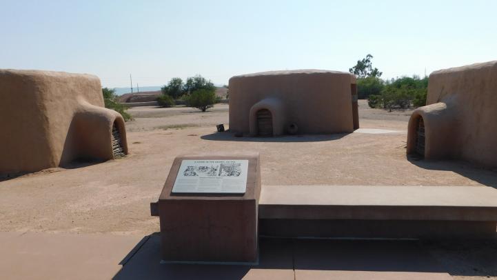 Pithouses at the Pueblo Grande Museum