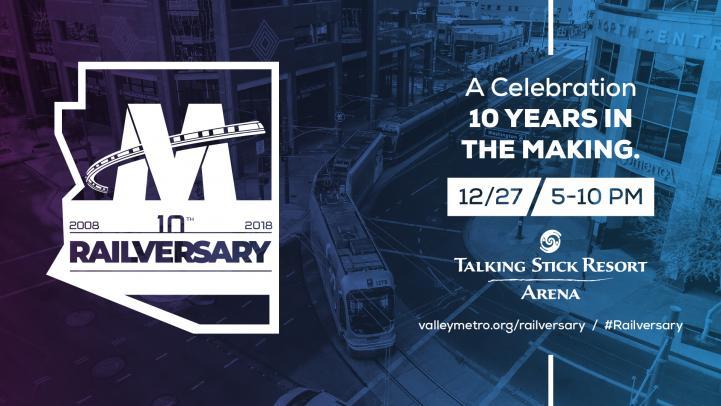 Railversary - 10 years of Light Rail - Dec 27 - 5-10 PM
