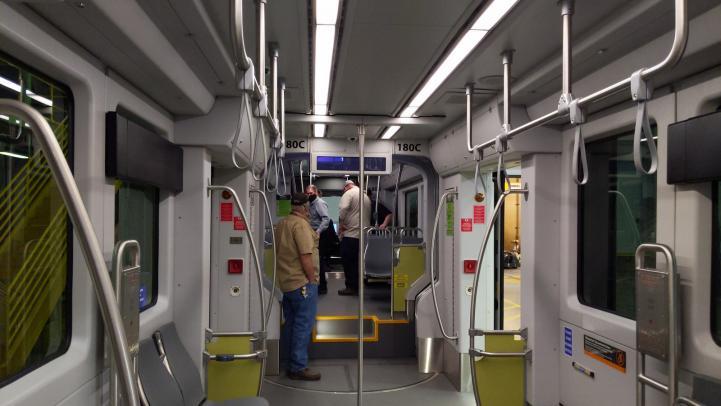 Interior of Tempe Streetcar