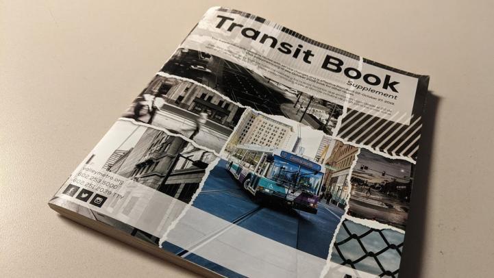 Photo of transit book