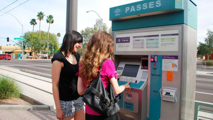 Ticket Vending Machine, TVM
