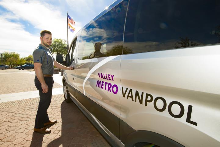 Vanpool driver