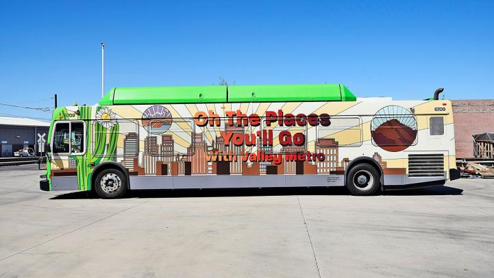 New Design A Transit Wrap bus