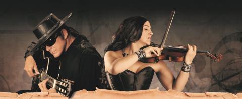 Legendary Guitarist – Esteban and Violinist – Teresa Joy