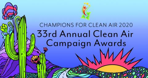 Champions of Clean Air Ceremony design