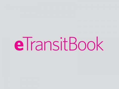 e-TransitBook logo