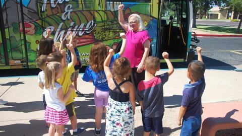 Teaching children about transit