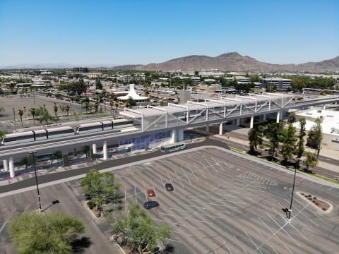 Rendering of Metrocenter Station