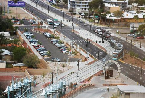 Central and Camelback park and ride