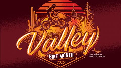 Valley Bike Month banner