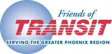 Friends of Transit - Serving the Greater Phoenix Region logo