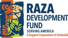 RAZA Development Fund Serving America logo