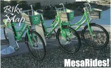 City of Mesa bike map