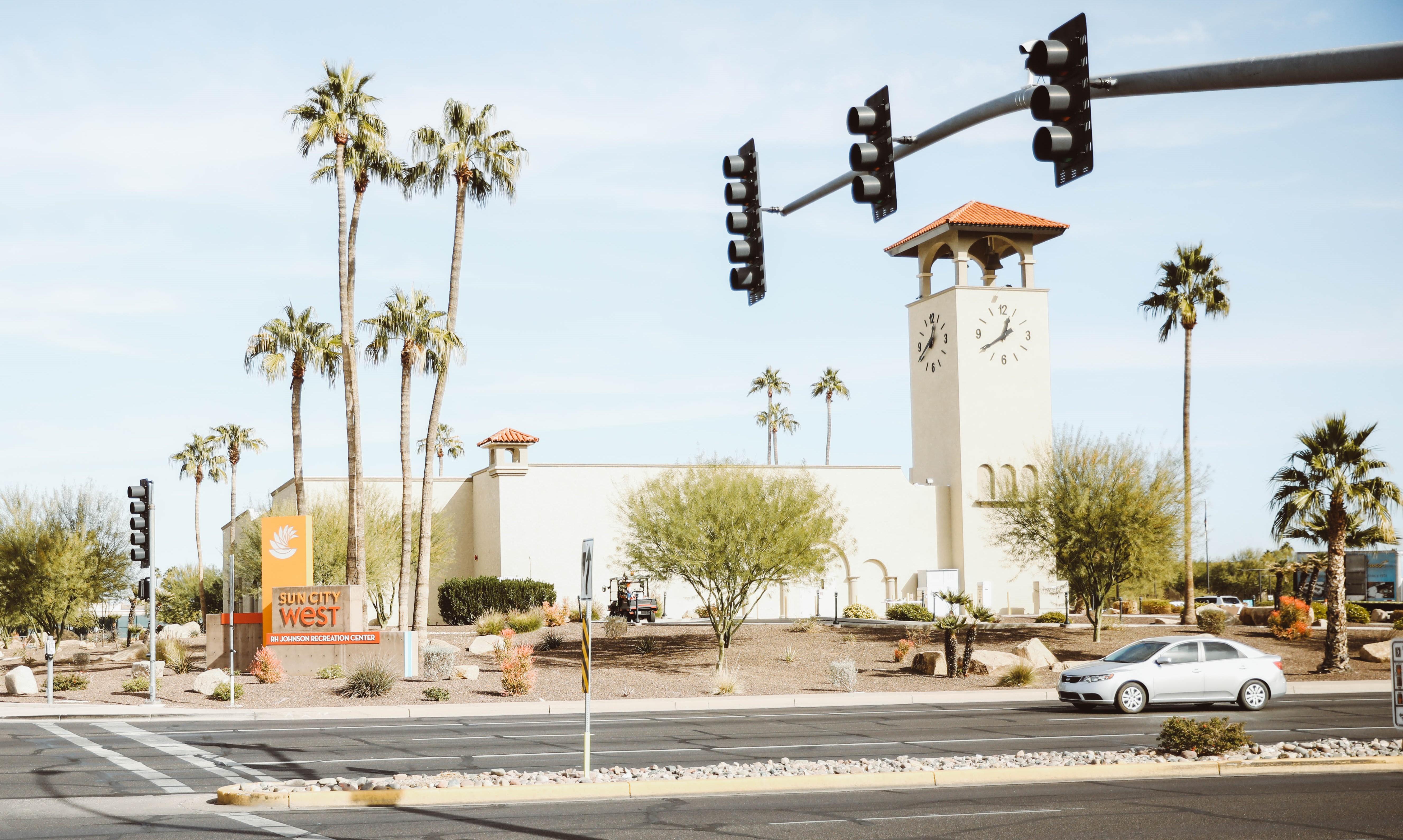 Sun City West Recreation Center from across the street